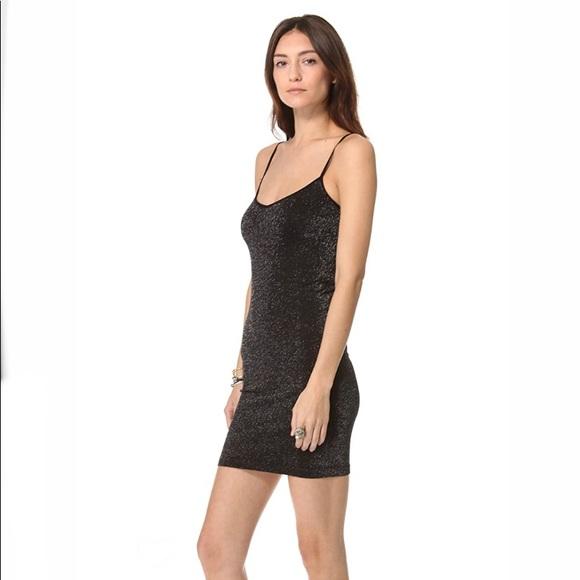 Free People intimately seamless lurex slip dress